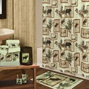 Bacova Lodge Shower Curtain Collection