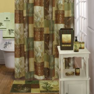 Bacova Pine Cone Shower Curtain Collection
