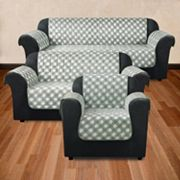 Sure Fit Gingham Furniture Slipcover Collection