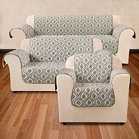 Sure Fit Ogee Furniture Slipcover Collection