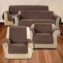 Sure Fit Deep Pile Furniture Slipcover Collection