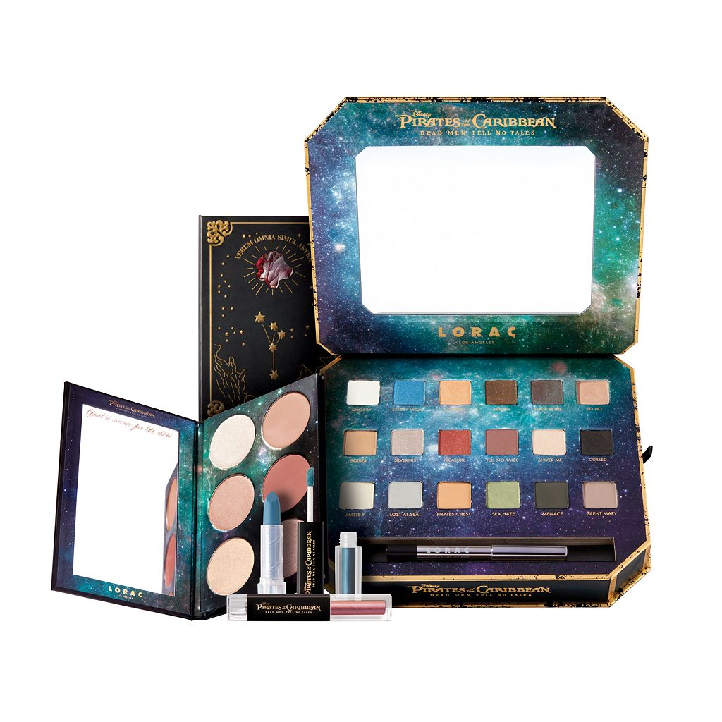 Disney's Pirates of the Caribbean: Dead Men Tell No Tales Makeup Collection by LORAC