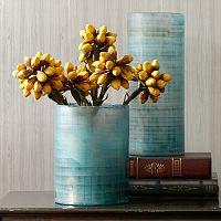Madison Park Doli Frost Blue Vase Collection