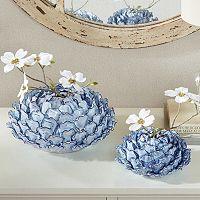 Madison Park Azura Ceramic Vase Collection