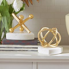 Madison Park Signature Sphere & Marble Jack Table Decor Collection