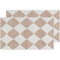 Safavieh Harlequin Geometric Bath Rug Collection