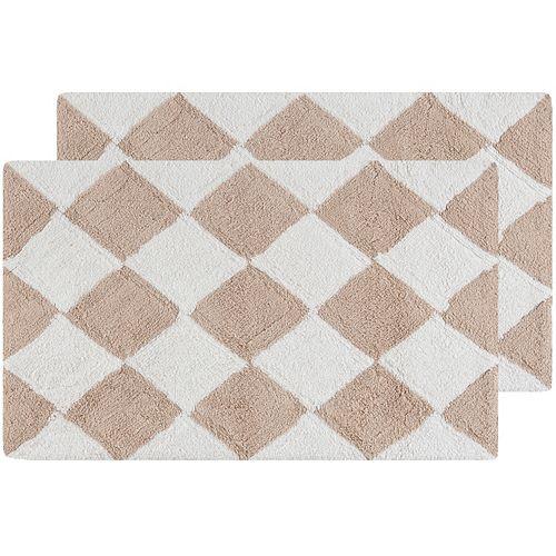 Safavieh Harlequin Geometric Bath Rug