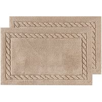 Safavieh Cable Plush Framed Bath Rug Collection