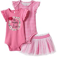 Baby Girl Baby Starters Gingham Mix & Match Collection