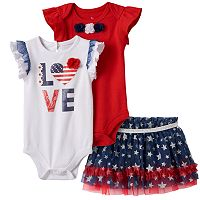 Baby Girl Baby Starters Patriotic Mix & Match Collection