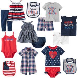 Baby Carter's Fourth of July Mix & Match Collection