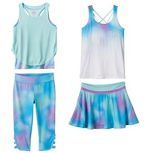 Girls 7-16 SO® Performance Mix & Match Outfits