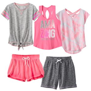 Girls 7-16 SO® Active Mix & Match Outfits