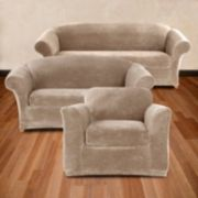 Sure Fit Plush Stretch Slipcover Collection