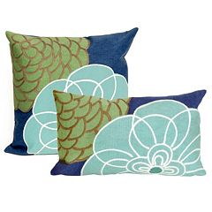 Trans Ocean Imports Liora Manne Disco Indoor Outdoor Throw Pillow Collection
