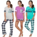 Juniors' SO® Naptime Squad Pajama Separates