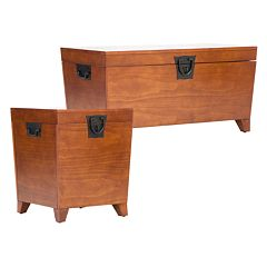 Pyramid Trunk Table Collection