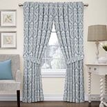 Waverly Donnington Damask Window Treatments