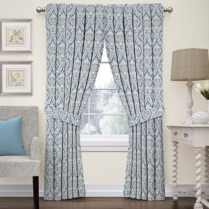 Ellery Donnington Damask Window Treatment Collection