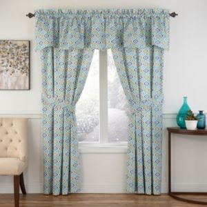 Ellery Lunar Lattice Window Treatment Collection