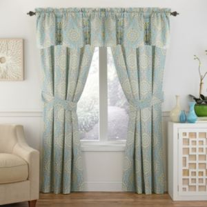 Ellery Moonlight Medallion Window Treatment Collection