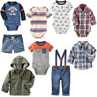Baby Boy OshKosh B'gosh® Little Pilot Mix & Match Outfits