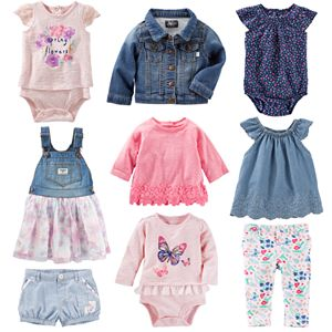 Baby Girl OshKosh B'gosh® Butterflies & Blooms Mix & Match Collection