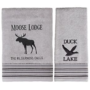 Saturday Knight, Ltd. Wilderness Calling Bath Towel Collection