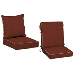 Bombay® Outdoors Pompas Texture Reversible Chair Cushion Collection