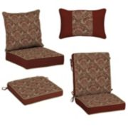 Bombay® Outdoors Venice Damask Reversible Cushion & Pillow Collection