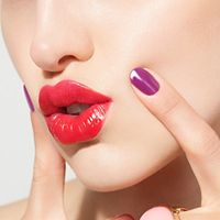 A Lips And Tips Love Story with butter LONDON