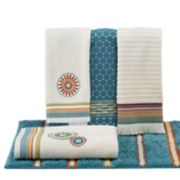 Saturday Knight, Ltd. Caymen Bath Towel Collection