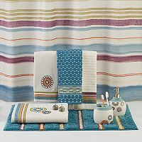 Saturday Knight, Ltd. Caymen Stripe Shower Curtain Collection