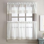 Sweet Adele Tier Kitchen Window Curtains