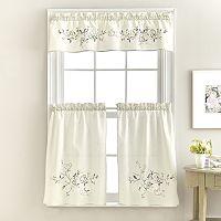 April Tier Kitchen Window Curtains