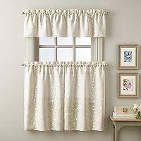Lynette Tier Kitchen Window Curtains