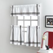 Sawyer Tier Kitchen Window Curtains