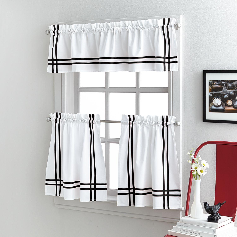 sawyer tier kitchen window curtains