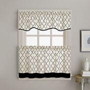 Morocco Tier Kitchen Window Curtains