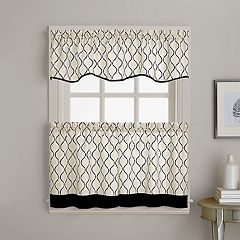 Morocco Tier Kitchen Window Curtains