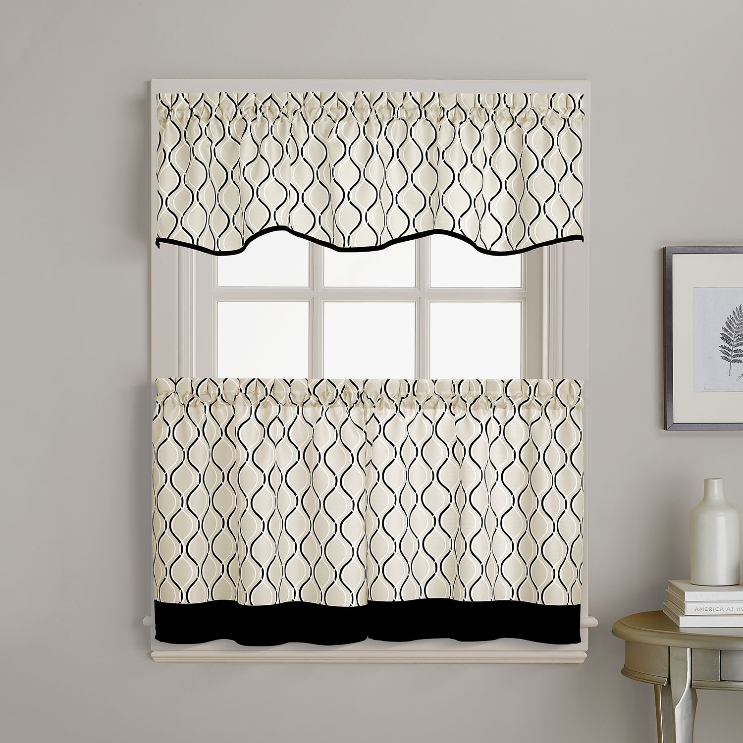 kitchen curtains drapes window treatments home decor kohl s
