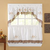Anjou Pear Tier Kitchen Window Curtains