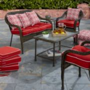 Terrasol Outdoor Cushion & Throw Pillow Collection
