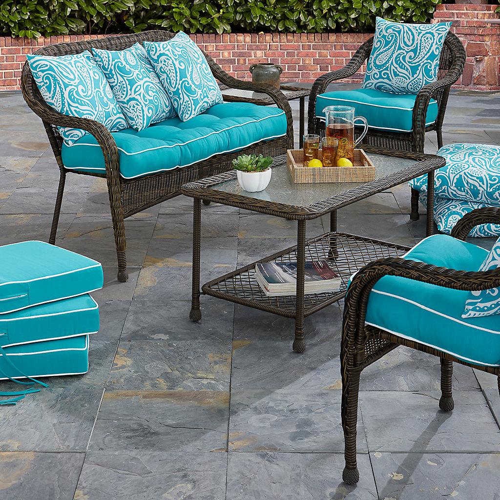Terrasol Outdoor Cushion & Throw Pillow Collection