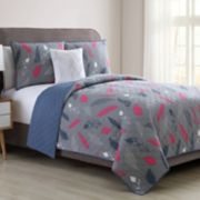 VCNY Feathers Quilt Collection