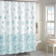 Destinations Mykonos Shower Curtain Collection