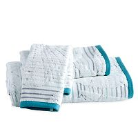 Destinations Mykonos Stripe Bath Towel Collection