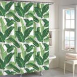 Destinations Miami Leaf Shower Curtain Collection