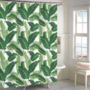 Destinations Miami Leaf Shower Curtain Collection