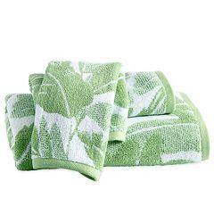 Destinations Miami Leaf Bath Towel Collection